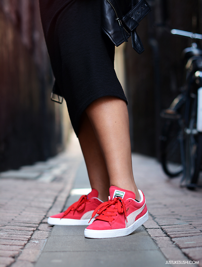 shop puma online, Puma basket classic sneakers red white