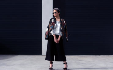 CULOTTES AND BOMBER JACKETS