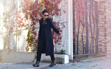 The perfect black coat
